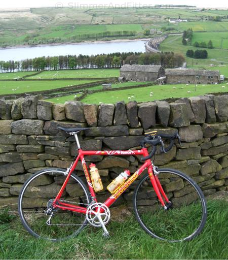Cannondale above Baitings reservoir