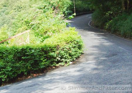 Steep climb to Mankinholes