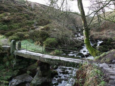 Colden Clough footbridge