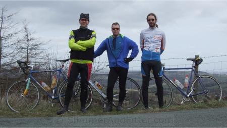 [Left to right] Colin, Martin, Will