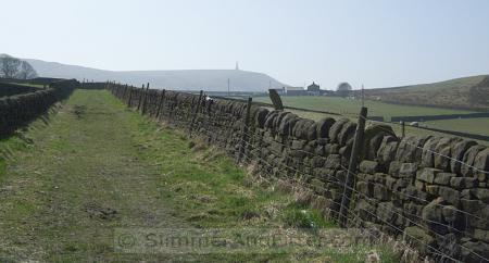 Stoodley Pike in distance