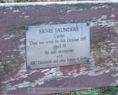 Ernie Saunders' seat