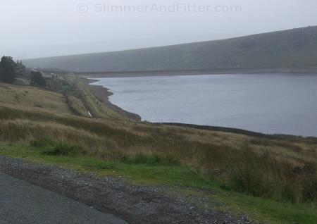 Gloomy view of Widdop Reservoir