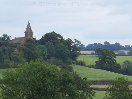 Grey sky in Warwickshire