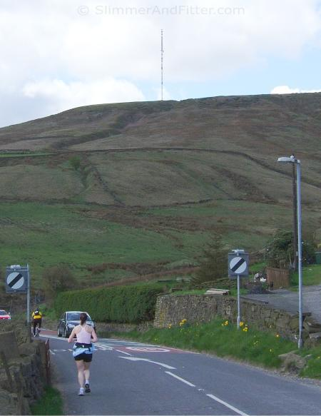 Holme Moss from the Holmfirth side