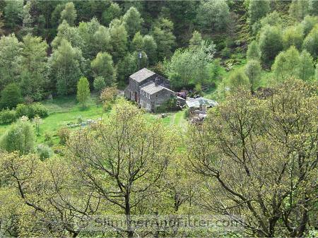 Another lonely cottage in Jumble Hole Clough