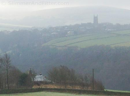 Low cloud over Heptonstall