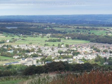 Meltham from Wessenden Head
