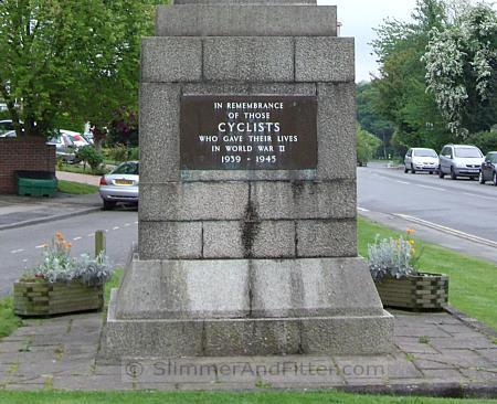 Meriden cyclists' memorial
