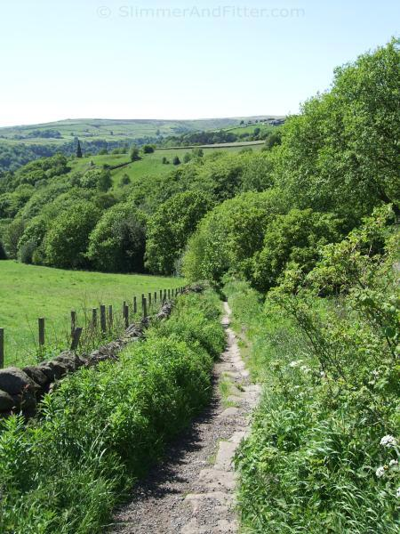 Pecket Well to Midgehole bridleway