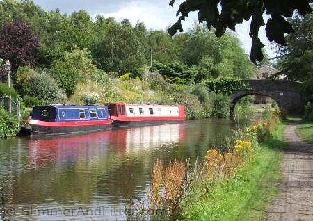 Rochdale canal, Mytholmroyd