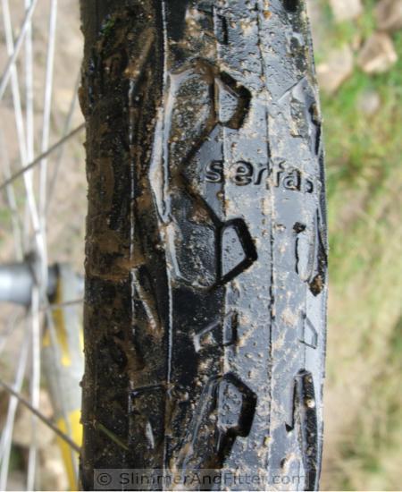 Semi-slick MTB tyre