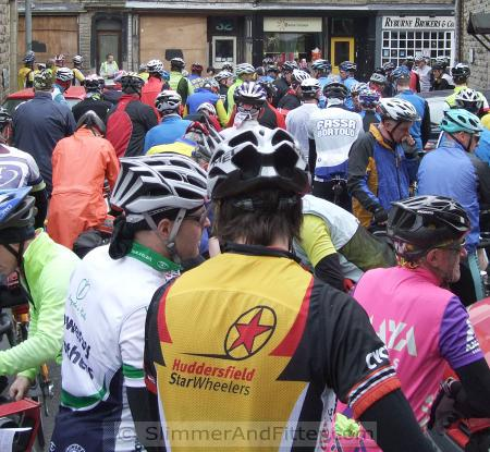 Spring Into the Dales riders about to set off