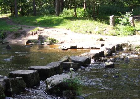 Stepping stones, Hebden Water