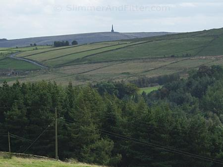 Stoodley Pike from Edge Lane