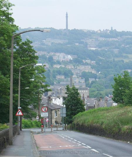 Wainhouse Tower above Sowerby Bridge
