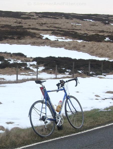 My Basso and some snow