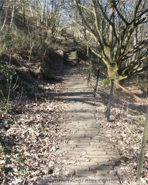 Cobbled shortcut