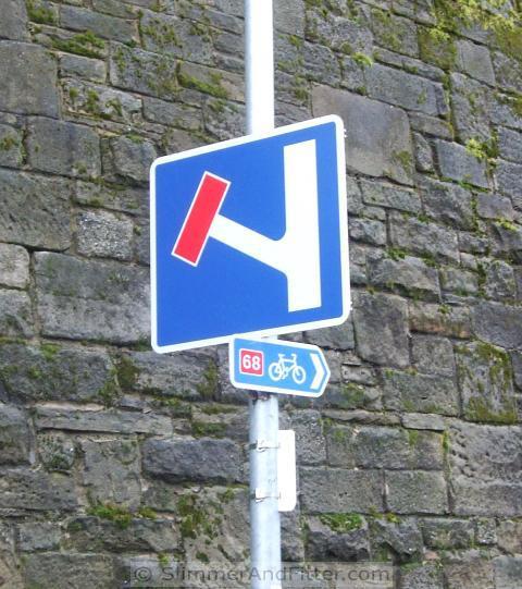 Cycleway, No Through Road