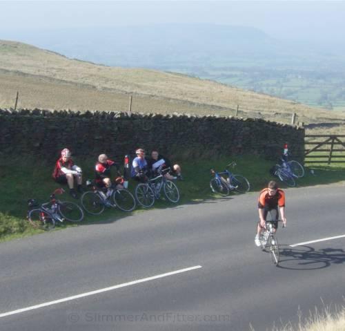 Cyclists, Nick o' Pendle
