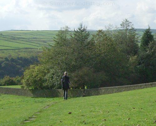 From Heptonstall to the Calderdale Way