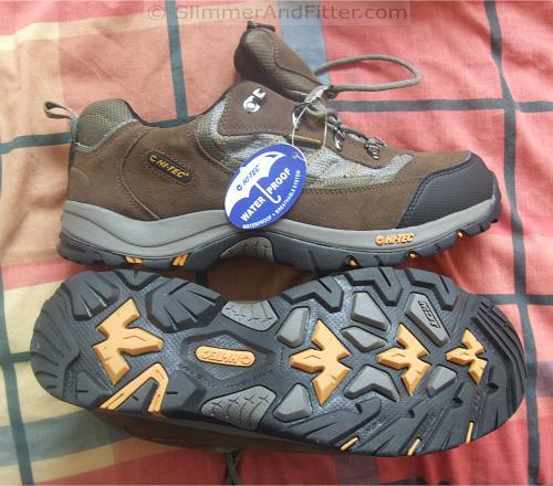 Hi-tec mens hiking shoes