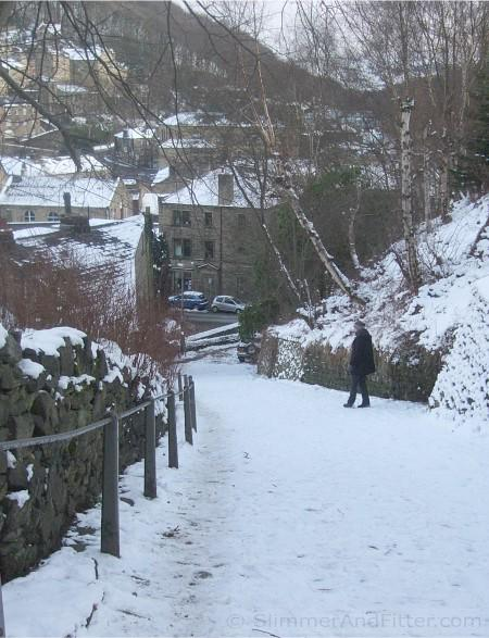Lower Buttress, Hebden Bridge, winter