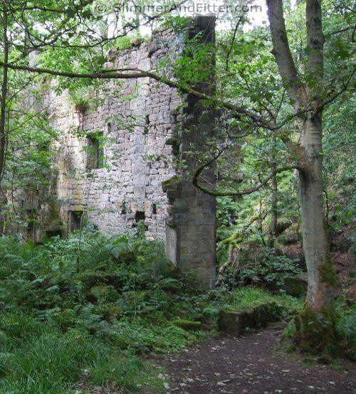 Mill ruins, Jumble Hole Clough