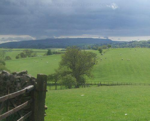 Pendle Hill from Elslack