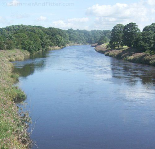 The River Ribble, near Ribchester