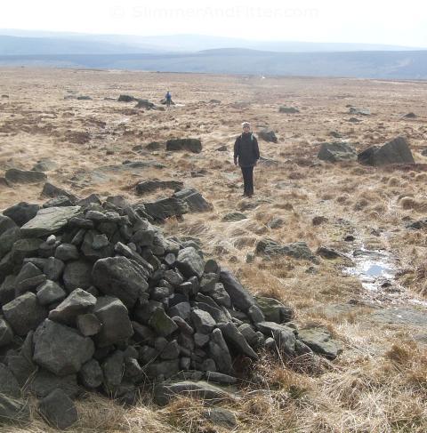 Rocking Stone Flat, Warley Moor