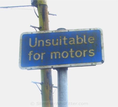 Unsuitable for motors