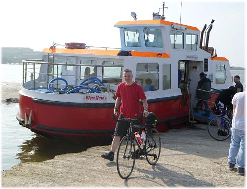 Fleetwood to Knott End ferry - the Wyre Rose