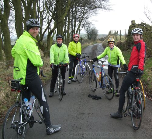 CycleChatters, Forest of Pendle lane