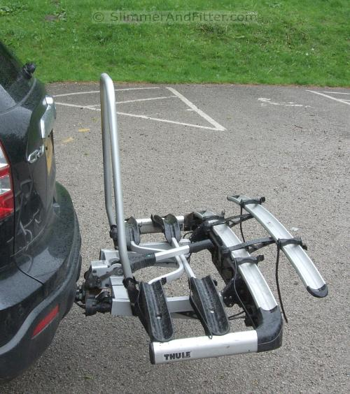 Bike Racks For Cars Steve H s Thule bike towball